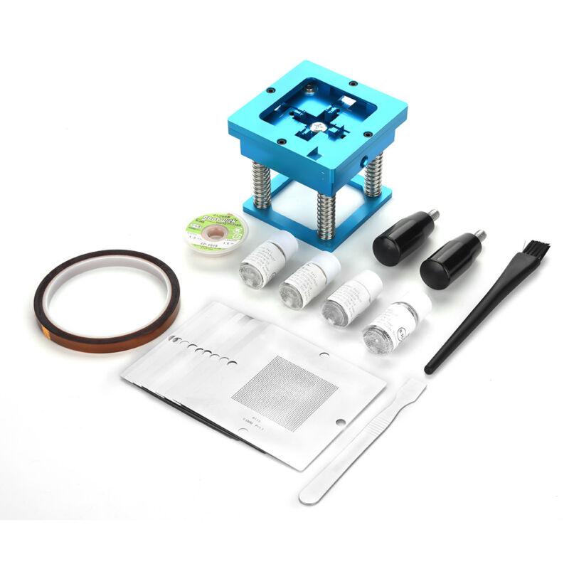 BGA Reballing Station Solder Rework Kit Soldering Station+Stencils+Balls Kit GS