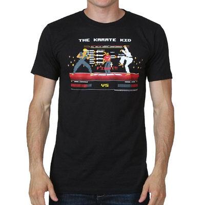 Johnny Karate Kid (Karate Kid Cobra Kai Fight Scene Pixel 8BIT Men's T Shirt Daniel v Johnny)