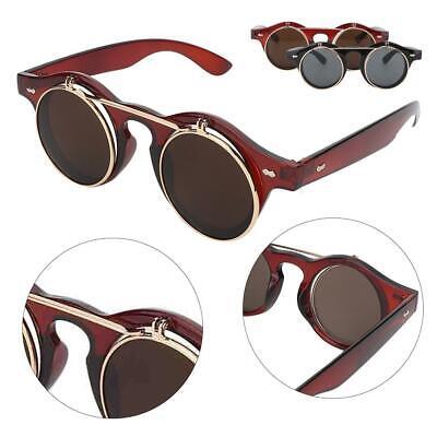 Retro Flip Up Women Grils Polarized Sunglasses Eye Glasses Goggles HOT Sale