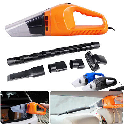 120W Handheld Vacuum Cleaner 5m Cable Wet&Dry Dual Use Portable Vacuum Cleaner