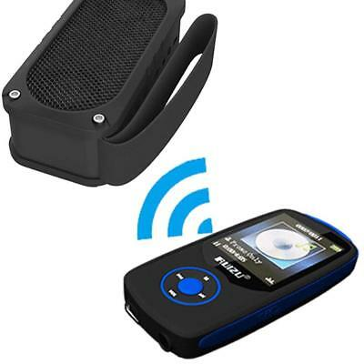 "Bluetooth Sport MP3 Music Player RUIZU X06 Wireless with 4GB TFT 1.8"" BLUE UK"