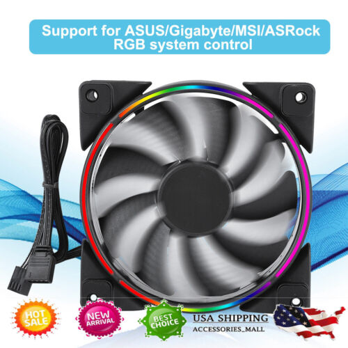 Pccooler CPU Cooler PC Heatsink Cooling with 4 Heatpipes 120