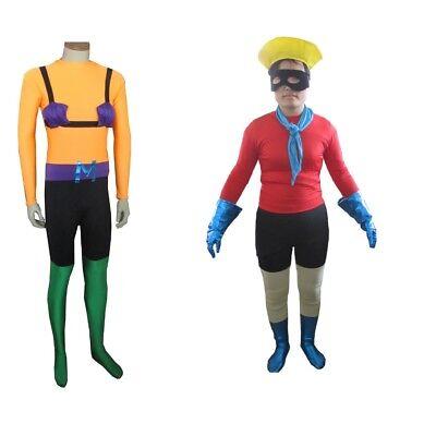 Mermaid Man and Barnacle Boy Costumes (Choose Your Design) Spongebog Squarepants - Design Your Costume
