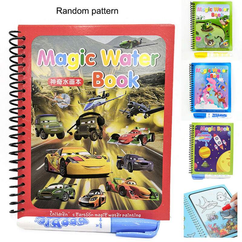 Magic Water Drawing Book Doodle Coloring Book Education Lear
