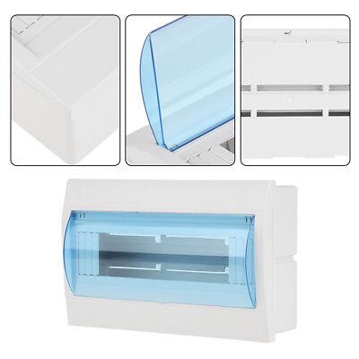 3-45-89-12 Ways Plastic Distribution Box Fr Circuit Breaker Indoor On The Wall
