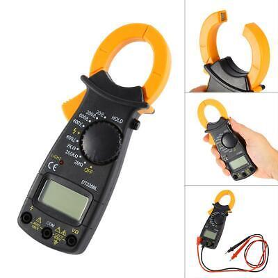 Lcd Digital Clamp Meter Tester Ac Dc Volt Amp Multimeter Auto Ranging Current