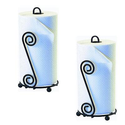 Scroll Paper Towel Holder