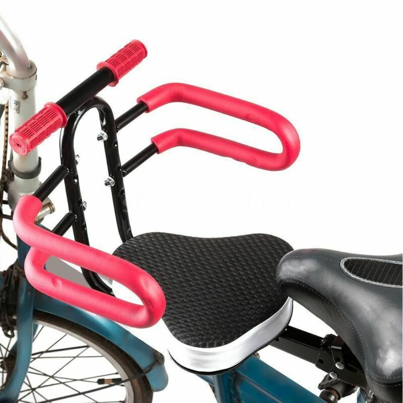 Bicycle Kids Child Front Mount Seat Bike Carrier Baby Safety Chair with Handrail