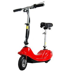 E Guruma Electric Bike Scooter Motor Rechargeable Folding