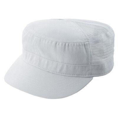 ENZYME WASHED TWILL ARMY CAP w/ MESH BACK Twill Mesh Back Cap