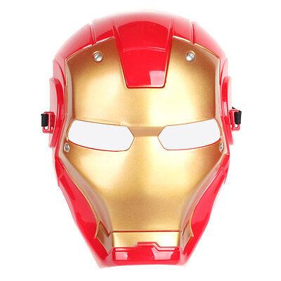 Halloween Super Hero Iron Man MASK Party Costume Cosplay Child Kid Toy