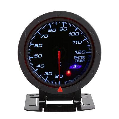 LED Digital Water Temp Temperature Gauge 20-120℃ Auto Racing Car Meter Kit