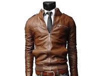 MEN'S fashion new jacket collar slim outwear cout brand new size S