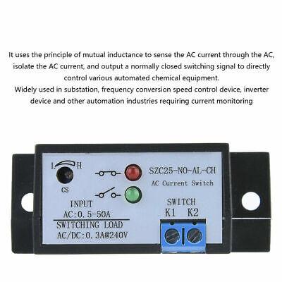 Current Sensor Module Ac Detection Module 0.5-50a Switch Input Self-powered