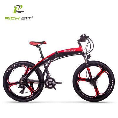 "26""bicicleta plegable E bicicleta eléctrica E bicicleta 250W doble freno 38KM"