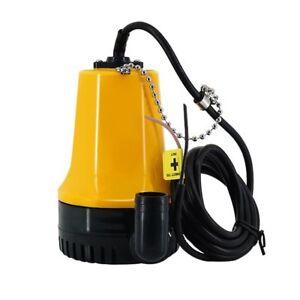 DC12V/24V Agricultural Irrigation Bilge Water Submersible Electric Pump 4600rpm