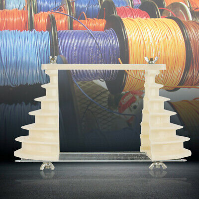 Beige Electrical Machine Plastic Single-phase 6-layers Coil Wire Winding Mold