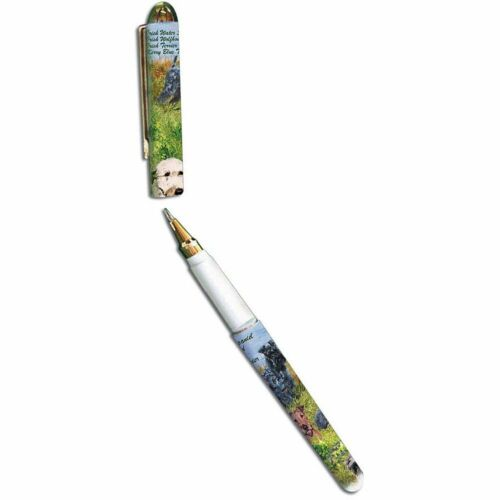 New Irish Wolfhound Terrier Dog Designer Pen - 50 Pens - by Ruth Maystead