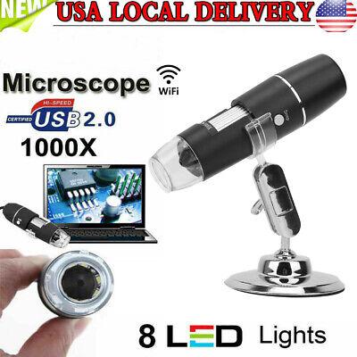 1000x Wireless Digital Microscope Camera Handheld Usb Magnification Endoscope