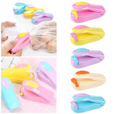 Portable Mini Heat Sealing Machine Impulse Sealer Seal Packing Plastic Bag Tool