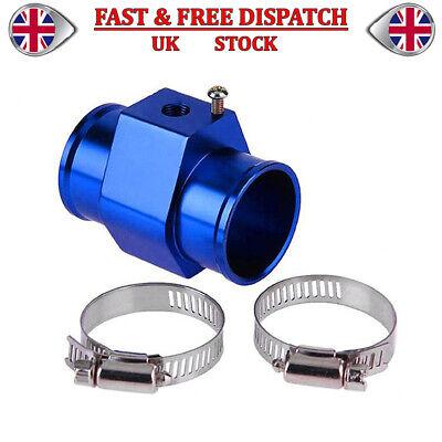 Car Water Temperature Temp Sensor Gauge Radiator Hose Joint Pipe Adapter 38MM UK