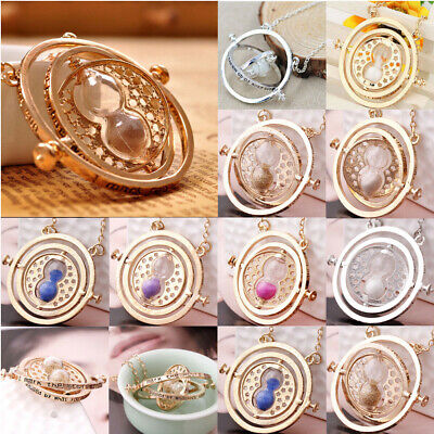9 colors time turner necklace hermione granger