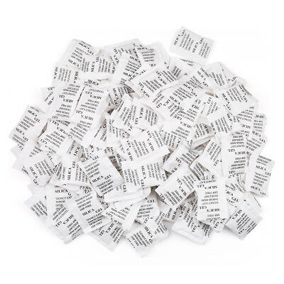 2g Grams Pack Of 160 Silica Gel Packets Desiccant Non-toxic Moisture Absorber