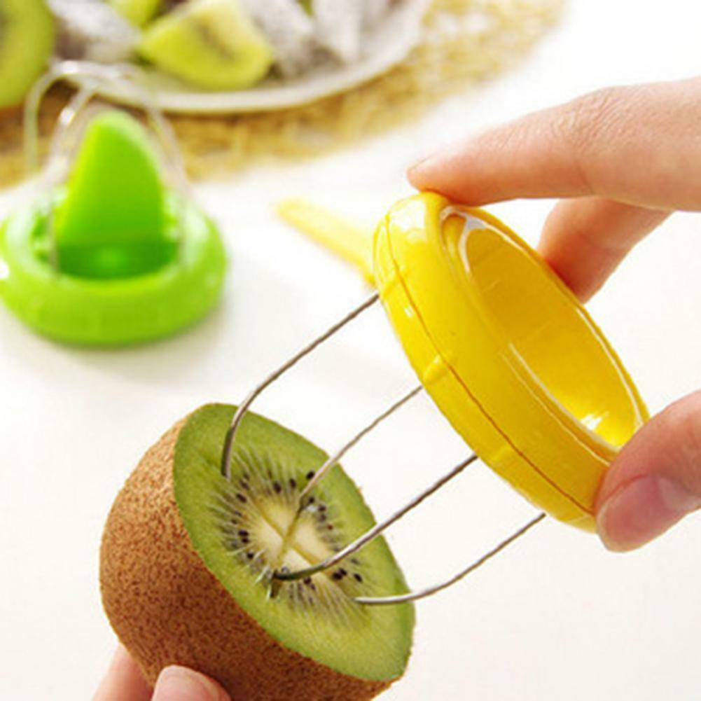 Multifunction Kiwi Fruit Cutter Peeler Slicer Gadgets Home K