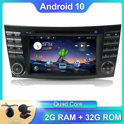 "7""Android 10 Autoradio GPS Navi für Mercedes Benz Klasse E/CLS/G W211 W219 Wifi"