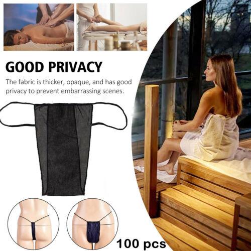 100 PCS Women's Disposable Panties SPA Bikini Wax Thong Tan Salon Underwear Clothing, Shoes & Accessories