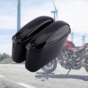 2x Motorrad Seitenkoffer Hartschalenkoffer Motorradkoffer Side-Box Kisten TOLL
