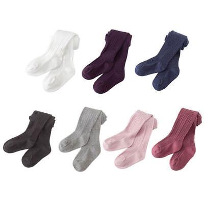 Kids Toddler Baby Girls Warm Cotton Tights Stockings Pantyhose Pants Socks Ture - Toddler Tights