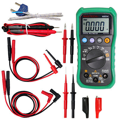 Mastech Ms8239c 9999 Ground Earth Resistance Tester Meter With Test Leads Usa