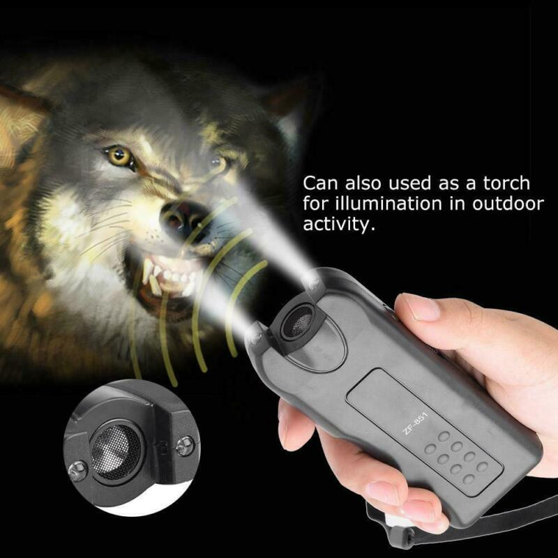130dB Dog Repeller Control Trainer Ultrasonic Anti Bark Device Stop Barking