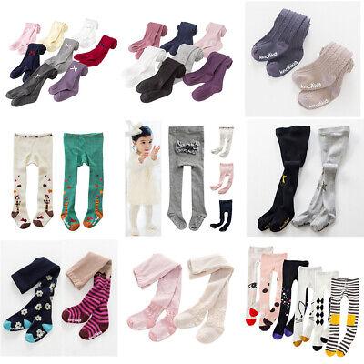Toddler Baby Kids Girls Cotton Tights Socks Stockings Pants Hosiery Pantyhose - Toddler Tights