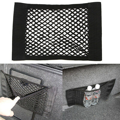 Car Auto Back Rear Trunk Pocket Cage Seat Elastic String Net Mesh Storage Bag
