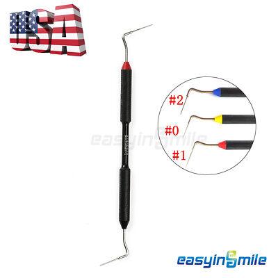 Easyinsmile 1x Dental Endo Buchanan Hand Plugger Niti Tip Fill Obturation 123