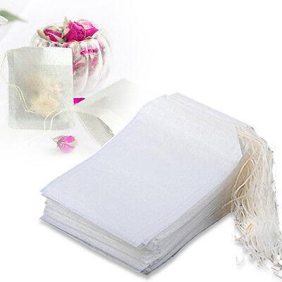 100 400 Pcs Magik Disposable Filter Empty Teabags Herb Loose Tea Bag