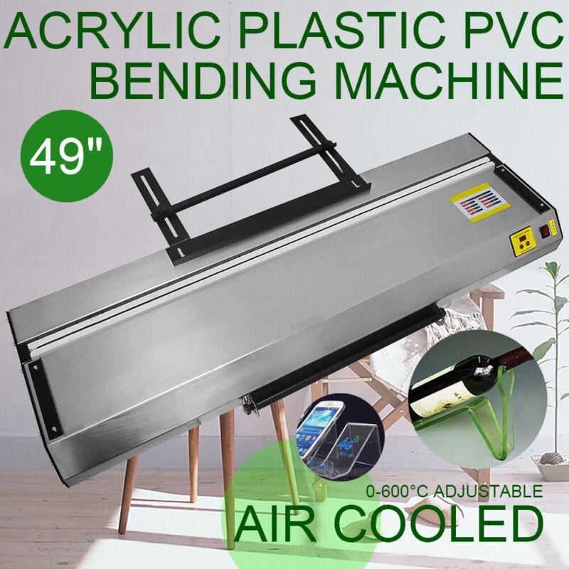"Upgraded 49""(1250mm) Acrylic Plastic PVC Bending Machine Bender Heater 1-10mm"
