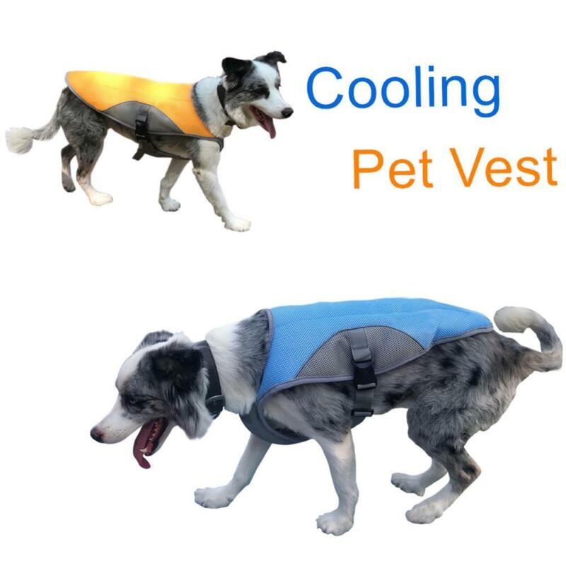 Pet Dog Outdoor Summer Breathable Vests Sportswear For Medium//Large Dogs 34