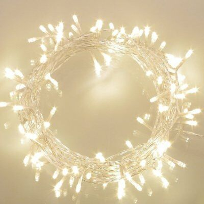36ft 100 LED Battery Operated String Lights with Timer