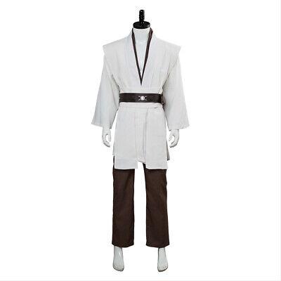Jedi Master Costume (Star Wars Jedi Master Obi-Wan Kenobi Ben COSplay Costume Tunic)