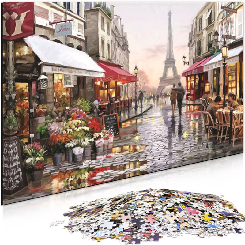 1000 Pieces Adult Puzzles Difficult Candy house Puzzle Landscape Style Gifts