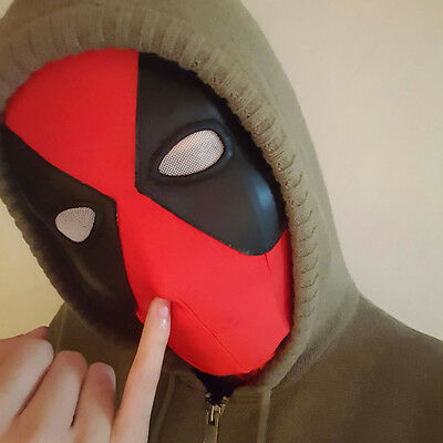 Hot Full Face Deadpool/Spider-Man Masks Halloween Costume Hood Cosplay Gift](Halloween Spider Font)