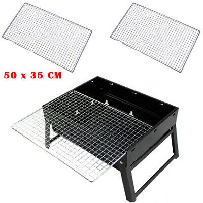 Barbecue Replacement Stainless Steel BBQ Grill Grate Grid Wire Mesh Rack Roast