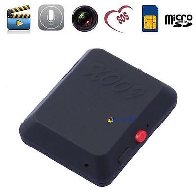Mini GSM SIM Card Hidden Spy Camera Audios Videos Record Ear Bug Monitor X009 MT