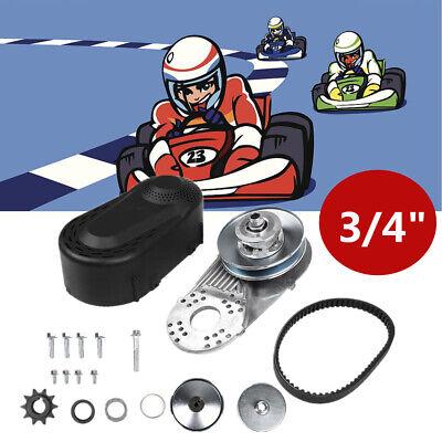 """3/4"""" Go Kart Drehmomentwandler Kupplungssatz passend für ATV20/30 Karting GOOD~"""