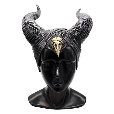 Maleficent Halloween Horns (Halloween Hat Horns Cosplay Maleficent Evil Queen Headpiece Headwear Costume)