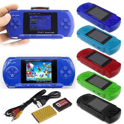 PVP3000 Portable Handheld Digital Game Console + Game Card Best Gift for