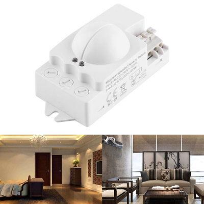 1x 220-240V 360 Degree 500W Microwave Smart Motion Sensor LED Light Radar Switch
